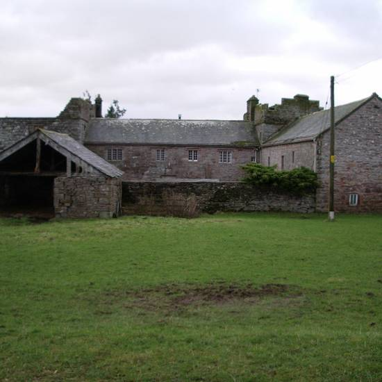 Blencowe Byre and Hall before restoration
