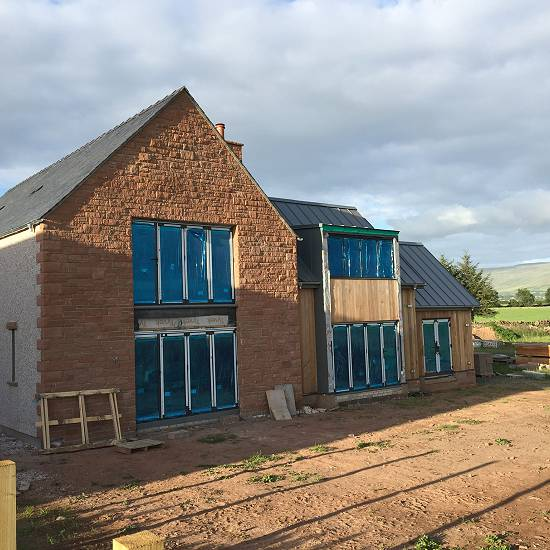 Plot 2 nearing completion